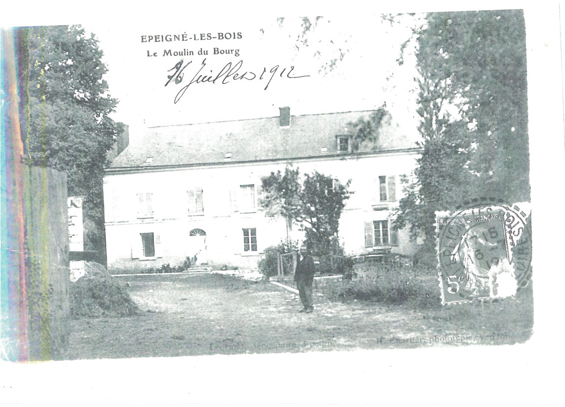 Le Moulin en 1912